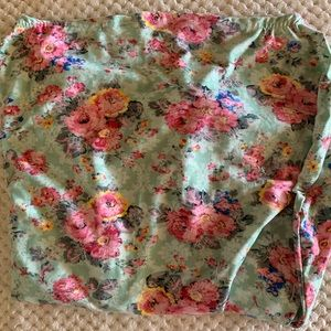 Other - Baby girl floral nursing wrap or car seat cover